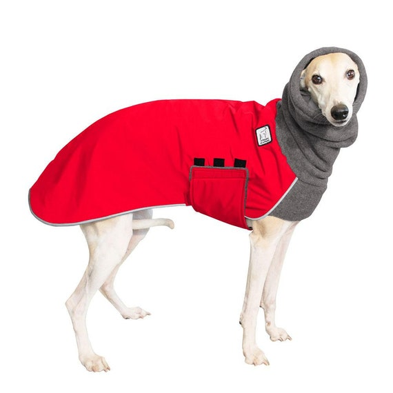 Whippet Winter Dog Coat Winter Coat For Dogs Waterproof Etsy
