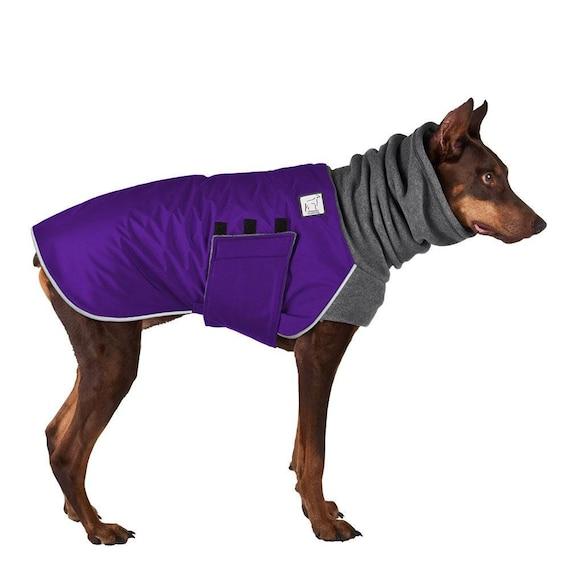 Doberman Pinscher Winter Dog Coat Winter Jacket Waterproof Etsy