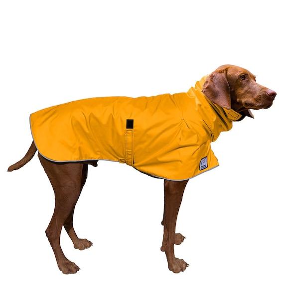 Custom made Dog Raincoat Dog Jacket Custom made for your dog Vizsla Winter Dog Coat Waterproof  Fleece coat Dog clothes