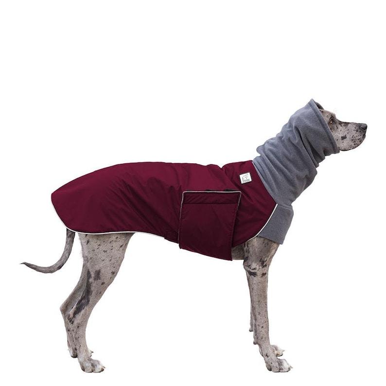 low priced 3bc72 94572 GREAT DANE Winter Dog Coat, Winter Jacket, Waterproof Dog Coat, Fleece Dog  Snood, Ear Warmer, Neck Warmer, Dog Hood, Dog Clothes, Clothing