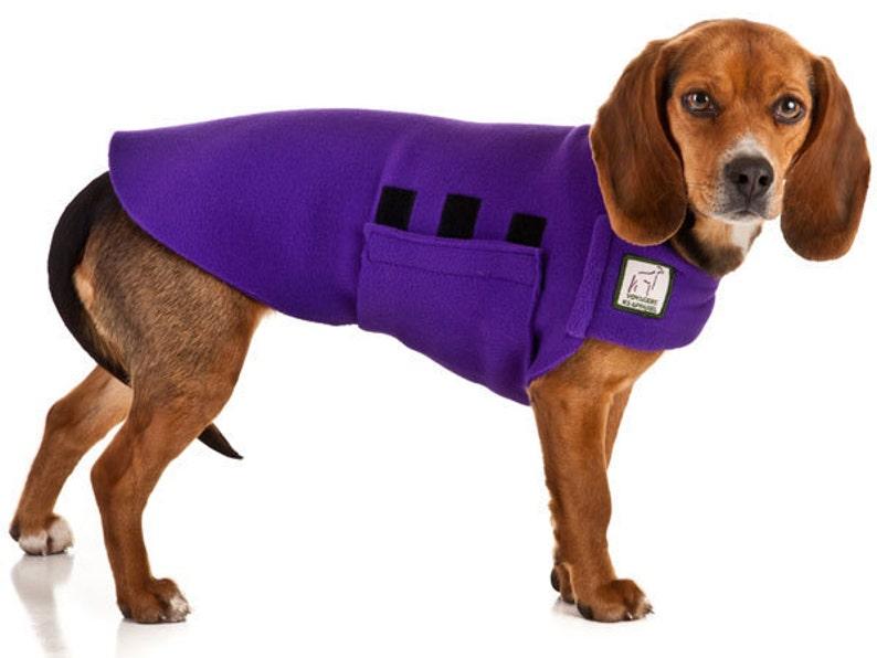 96cf497d4240 BEAGLE Tummy Warmer Fleece Dog Sweater Fleece Dog Jacket | Etsy