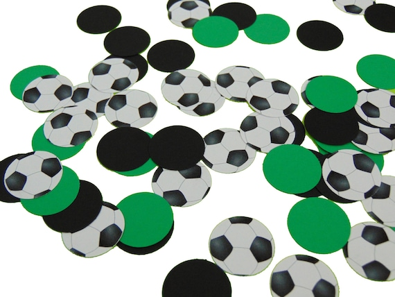 Soccer Ball Confetti Soccer Ball Decorations Soccer