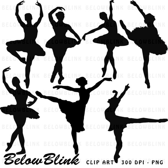 picture about Ballerina Silhouette Printable known as Ballerina Silhouettes Clipart Clip Artwork Electronic Sbooking