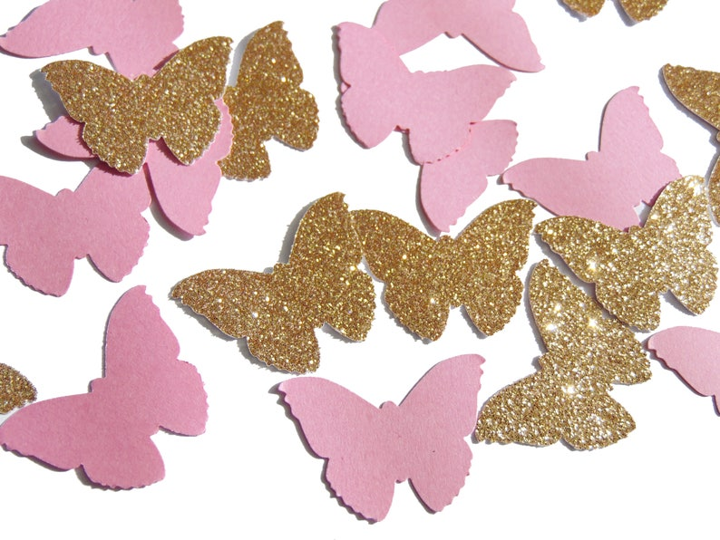 Butterfly Confetti 50CT Fairy Party Table Decor Birthday