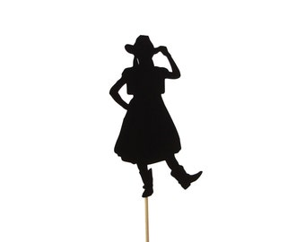 Cowgirl Cake Topper, Western Birthday Party Decoration, Cowgirl Party Decor, Cowgirl Birthday, Party Supplies