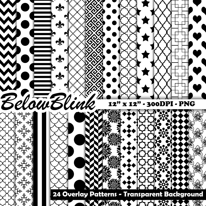Transparent Patterns Simple Decorating Design