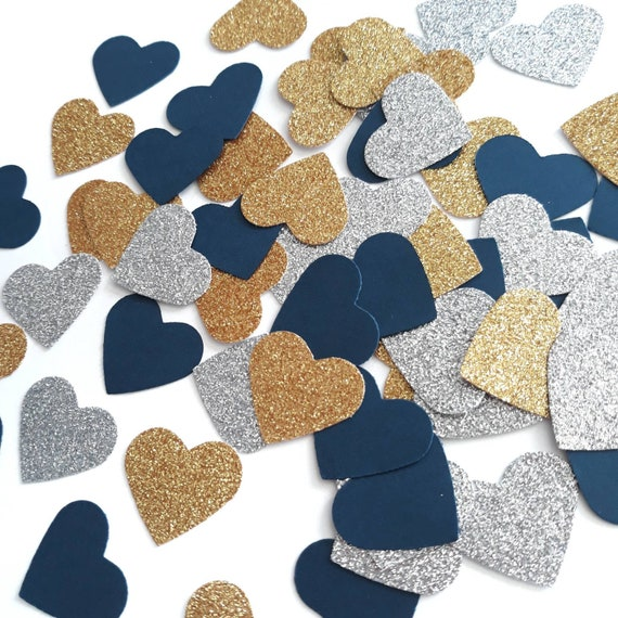 paper crafts and party supplies No915 Holiday Party Decorations Christmas Confetti 50 Holiday Glitter Star Confetti