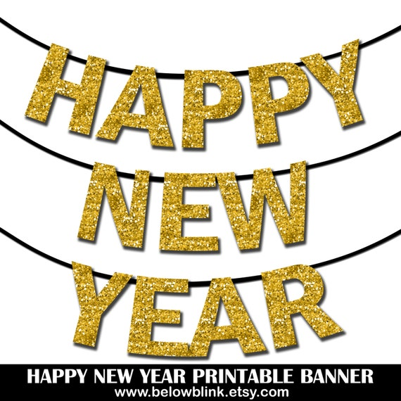 Impertinent image regarding happy new year printable