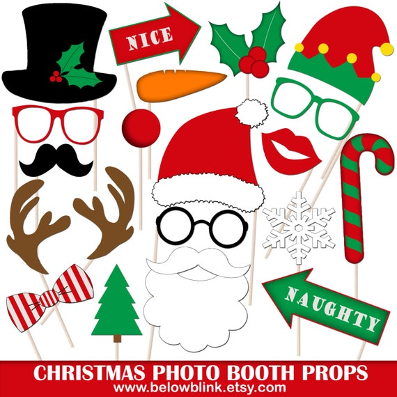 photo about Christmas Photo Booth Props Printable identify Printable Xmas Picture Booth Props, Xmas Picture Props