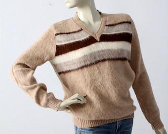 39023be01aa83 vintage 70s alpaca sweater