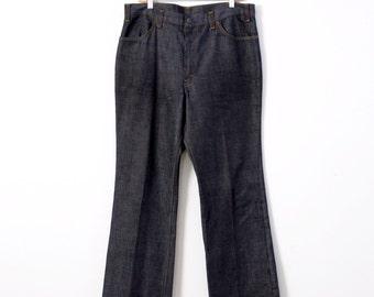 8a2a1755926 vintage 60s Levi's Big E Sta Prest denim trousers, 38 x 30