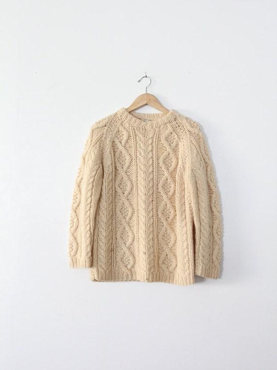 1970s fisherman's sweater