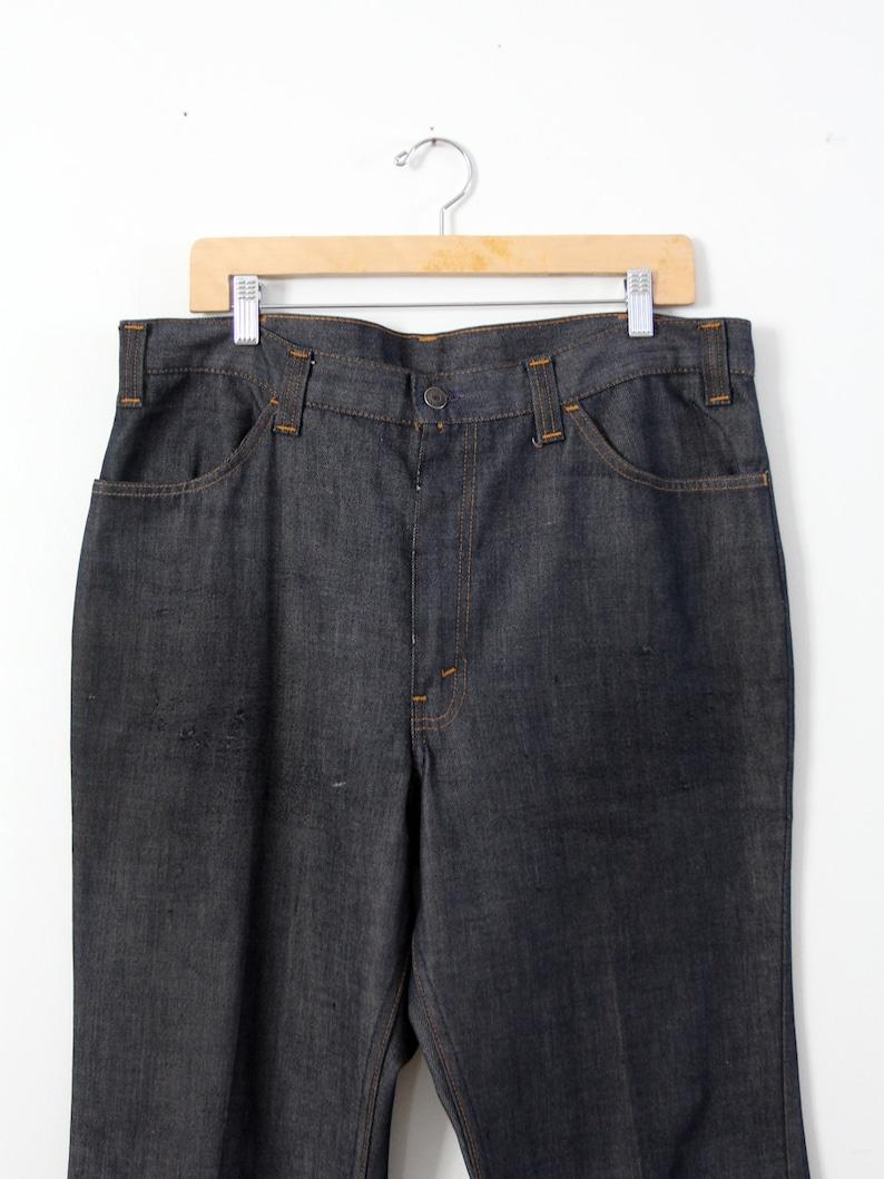 8af0dd42830 Vintage 60s Levi's Big E Sta Prest denim trousers 38 x 30 | Etsy