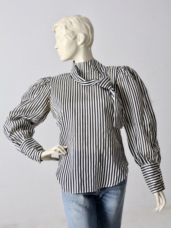 vintage 60s Adolfo blouse