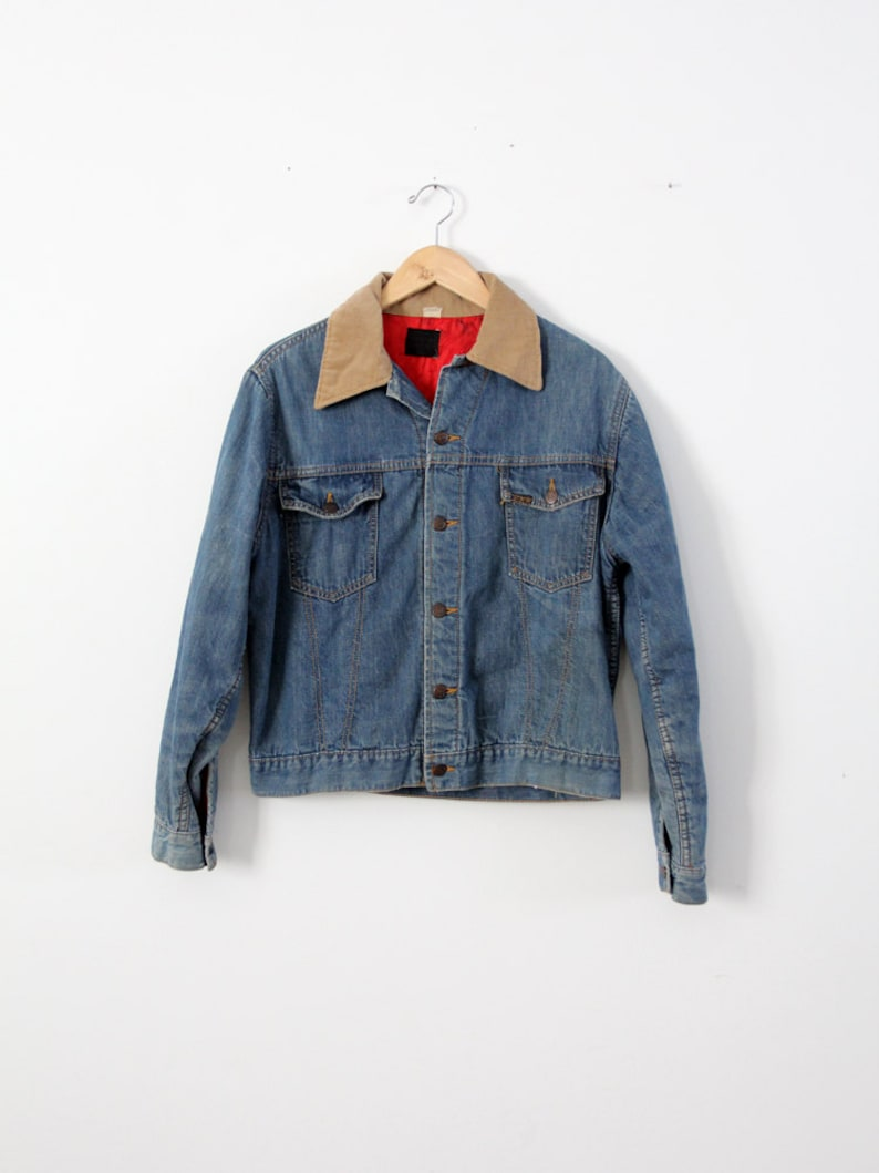 e1c0ef9b2f 1960s Sears Roebucks denim jacket insulated denim jacket