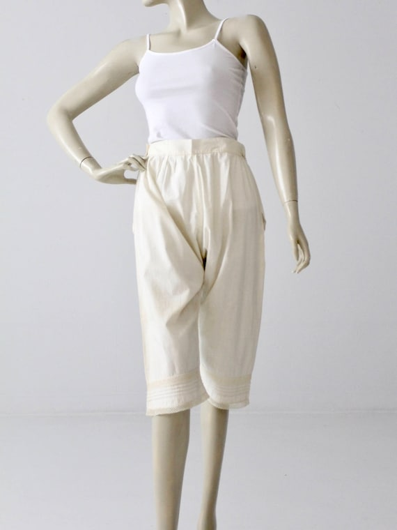 antique bloomers, Victorian pantaloons, 1900s ling