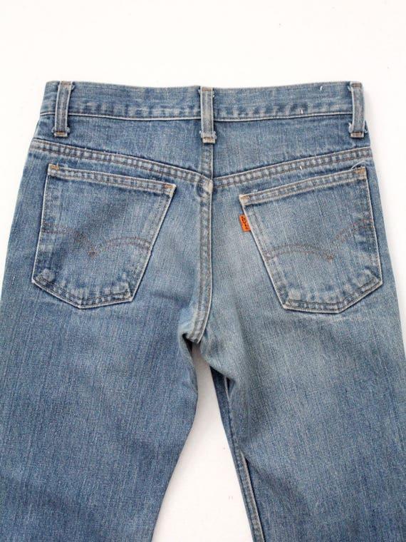 Levi's vintage jeans, 1970s denim flares, 784 bel… - image 7