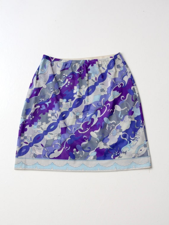 1960s Pucci half slip / vintage Pucci for Form Fit
