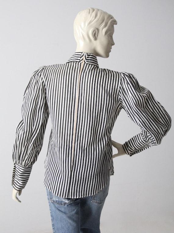 vintage 60s Adolfo blouse - image 8