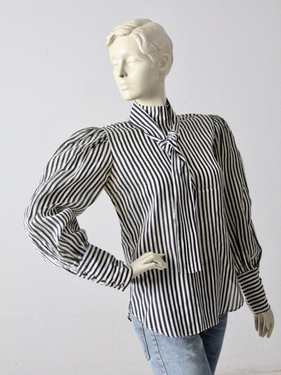 vintage 60s Adolfo blouse - image 6