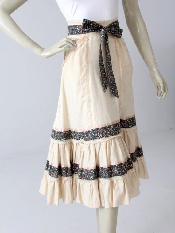 Gunne Sax skirt, vintage Jessica's Gunnies skirt,… - image 2