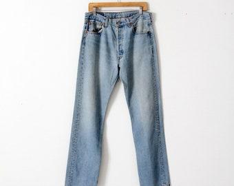 vintage 501 Levi's denim jeans, 33 x 33