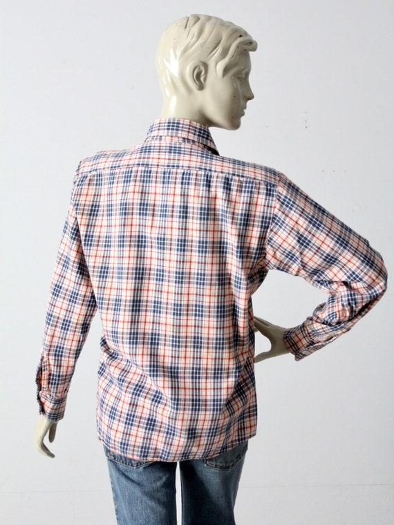 vintage plaid button up shirt - image 8