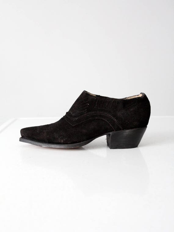 NaNa ankle boots vintage western shoe