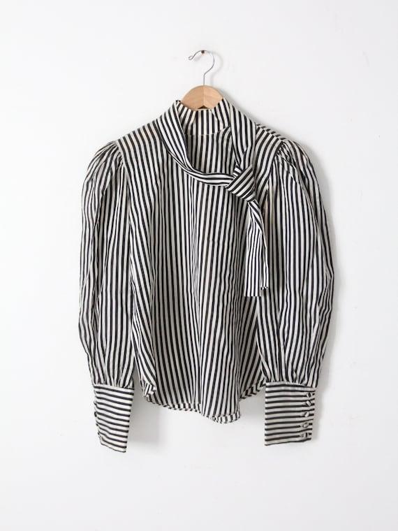 vintage 60s Adolfo blouse - image 2