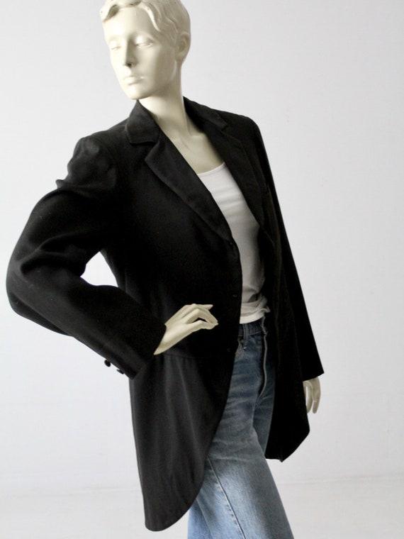 vintage tailcoat, tuxedo jacket