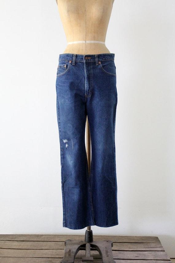 vintage Levi's 517 denim jeans, waist 34