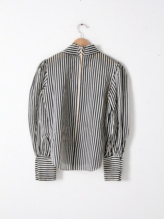 vintage 60s Adolfo blouse - image 3