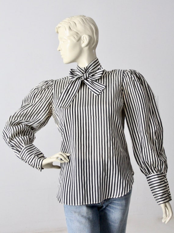 vintage 60s Adolfo blouse - image 5