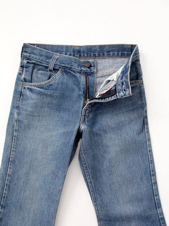Levi's vintage jeans, 1970s denim flares, 784 bel… - image 4