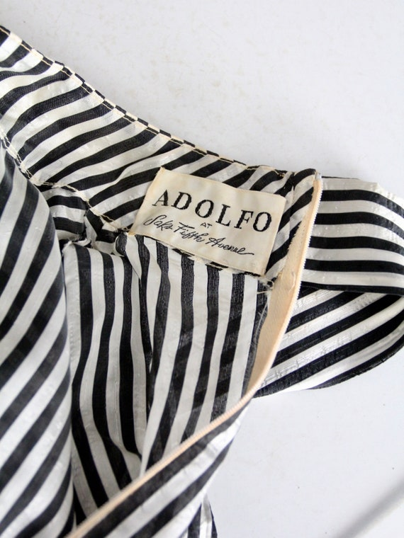 vintage 60s Adolfo blouse - image 4
