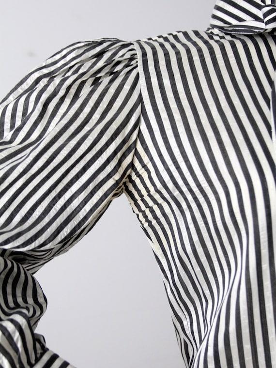 vintage 60s Adolfo blouse - image 7