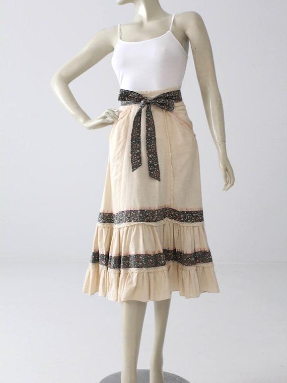 Gunne Sax skirt, vintage Jessica's Gunnies skirt,