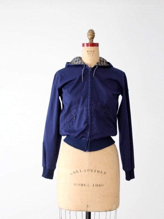 vintage 70s Sportif zip up jacket, women's sportsw