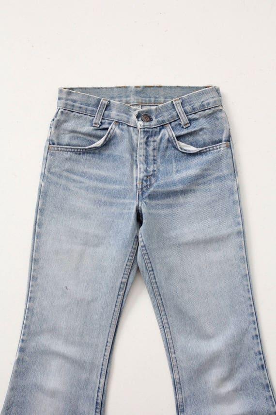 Levi's bell bottoms, vintage 70s jeans, 26 x 30 - image 3