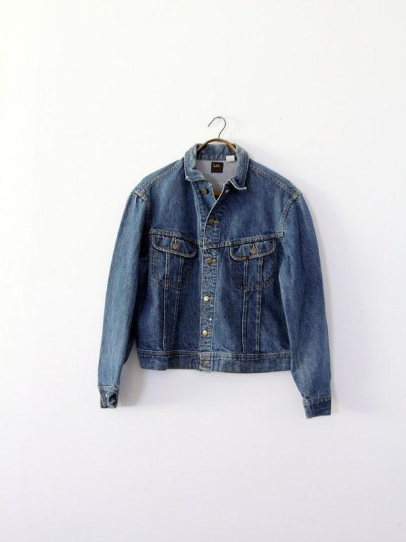 1970s Lee denim jacket,  Lee PATD-153438, vintage