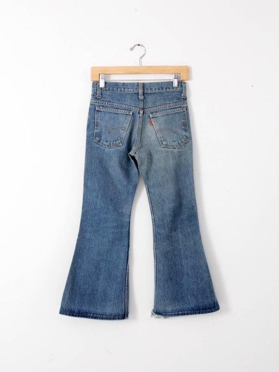 Levi's vintage jeans, 1970s denim flares, 784 bel… - image 2