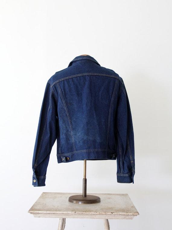 1970s Lee denim jacket,  Lee Sanforized PATD-1534… - image 4