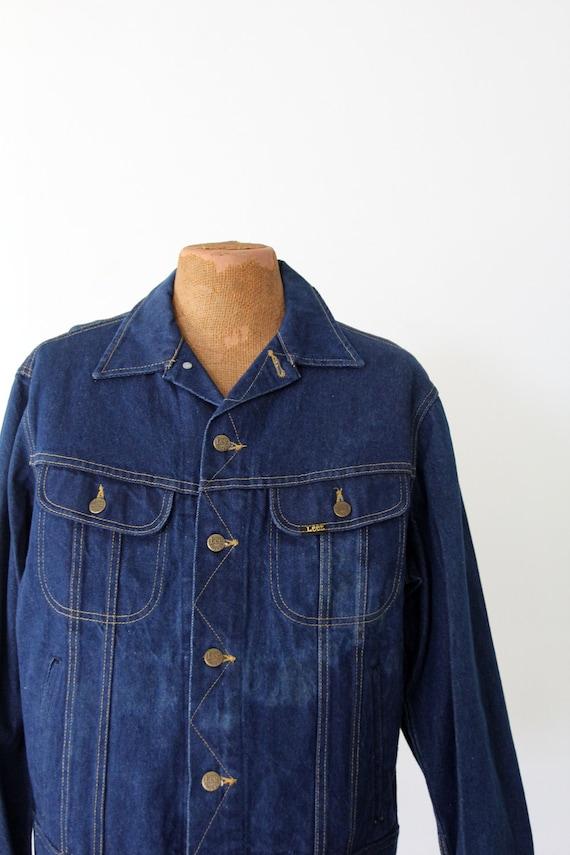 1970s Lee denim jacket,  Lee Sanforized PATD-1534… - image 3