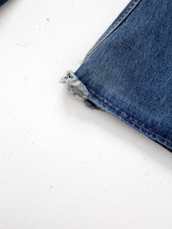 Levi's vintage jeans, 1970s denim flares, 784 bel… - image 6