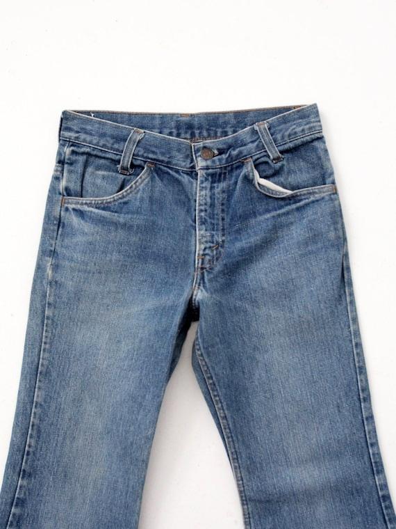 Levi's vintage jeans, 1970s denim flares, 784 bel… - image 3