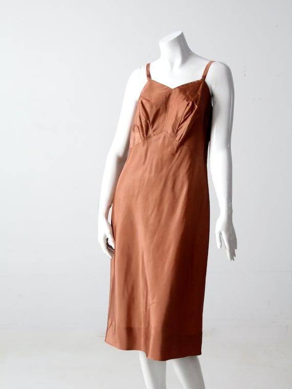vintage 1940s knit ribbon dress - image 7