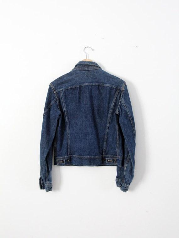 1970s Lee denim jacket ptd 153438, vintage jean j… - image 3