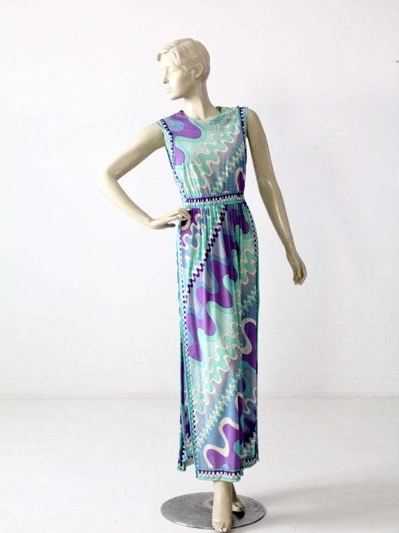 1960s Pucci Slip / Vintage EPFR Night Gown / Pucci