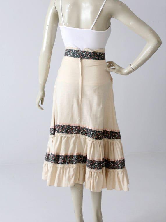 Gunne Sax skirt, vintage Jessica's Gunnies skirt,… - image 4