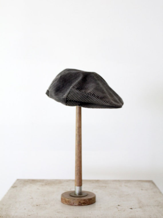 newsboy hat, vintage Dobbs Fifth Avenue hat, flat